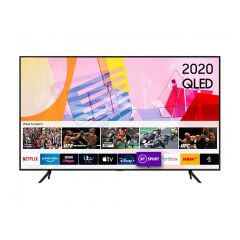 Samsung 4K Smart Q HDR Voice Assist TV Plus, Smart Things App  QE65Q60TA