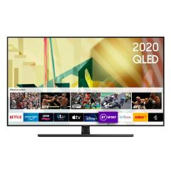 "Samsung QE75Q70TA 75 ""4K Smart Q HDR Voice Assist TV Plus, Smart Things App"