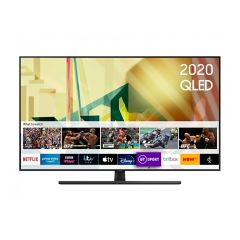 Samsung QE85Q70TA 4K Smart Q HDR Voice Assist TV Plus, Smart Things App