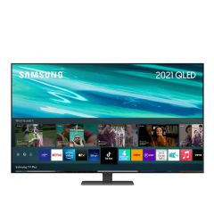 "QE55Q80A 55"" QLED 4K HDR 1500 Smart TV"