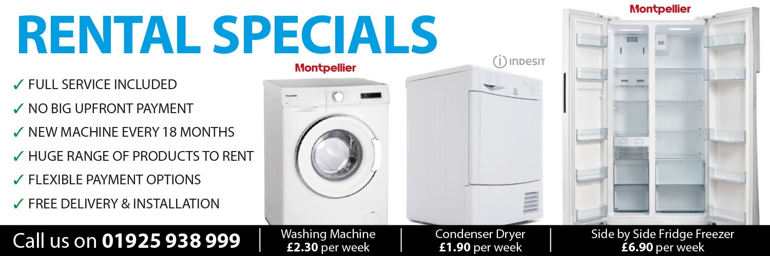 Washing Machine Rentals